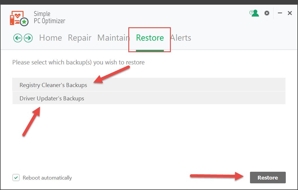 SPCO_restore