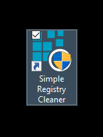 Simple Registry Cleaner shortcut icon